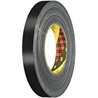 3M Scotch 389 Fabric Tape, 75 mm x 50 m, 0.26 mm - Black