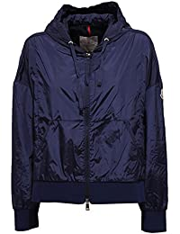 MONCLER 5383W Giubbotto Oversize Donna COMTE Blue Jacket Woman