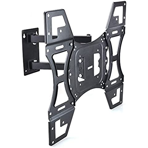 Sunydeal TV Soporte de Pared con Inclinación Giratoria para TV Televisión 22 - 50
