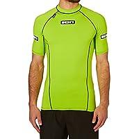 Hombre Licra litio Promo Rash Guard verde verde lima Talla:medium
