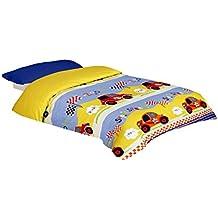 Funda nórdica estampada Coches (SPEEDY, Para cama de 90x190/200 (Nórdico de