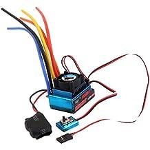 Sharplace 120A ESC Sensor sin Escobillas Control de Velocidad para 1/8 1/10
