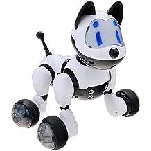 GEEDIAR® Perro Robot de Juguete Electrónico Perros Doméstico, Omandos de Control de Voz con las Actividades de la Diversión del Perrito, Caminar, Canciones, Bailes y Sonidos de Perro Sólo