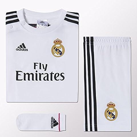 adidas - Conjunto de bebé 1ª equipación Real Madrid CF 2014-2015 Adidas