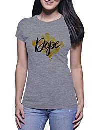 Dope Colorful Spot Mujer White T-Shirt