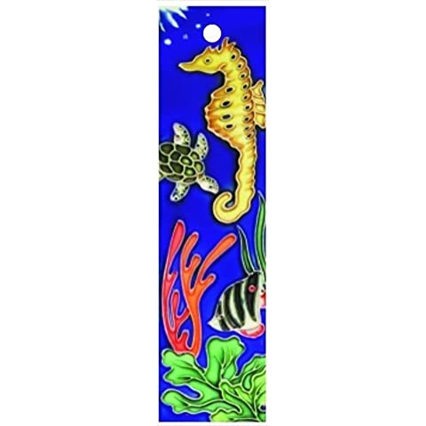 En Vogue NA-014-Decorazione per acquario Series-Art Ceramic Tile-Numero civico 2 x 8,5 in. in.En Vogue