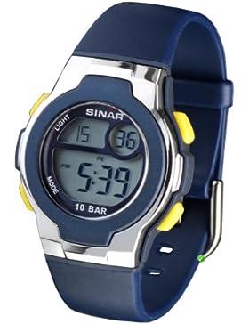 Sinar Armbanduhr XF–Uhr für Männer, mit Kunstharz schwarz