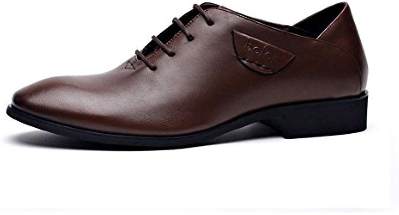 Gli uomini è una cosa casuale scarpe uomini uomini uomini scarpe casual da moda, spesso calata,Marronee,37 | Garanzia di qualità e quantità  7671e4