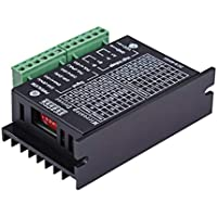 9-40V Micro-Step CNC TB6600 Single para Axis 4A Stepper Motor Driver Controller (Color: Negro y Verde)