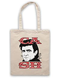 Johnny Cash The Man In Black Bolso