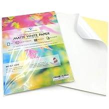 Amazones Papel Adhesivo Para Imprimir