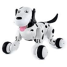 Giocattolo SainSmart Jr. telecomando senza fili elettronico intelligente cane bambini Pet Robot di Dancing Dog elettrico