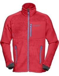 Norrona Fleece Jackets Lofoten Warm2 High Loft Jacket Red S