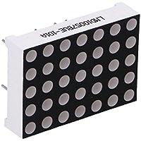 2x LMD10057BUE-101A Display LED matrix 5x7 red 11.6mcd anode LMD10057BUE-101A-01