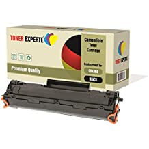Pack de 2 TONER EXPERTE® Compatibles CB436A 36A Cartuchos de Tóner Láser para HP Laserjet P1505, P1505N, P1506, M1120 MFP, M1120N, M1520, M1522 MFP, M1522N, M1522NF