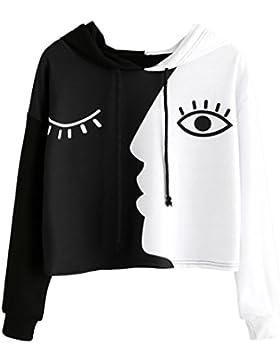 FAMILIZO Camisetas Mujer Sudaderas Camisetas Mujer Verano Tops Mujer Primavera Camisetas Sin Hombros Mujer Camisetas...