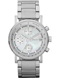 DKNY Damen-Armbanduhr Chronograph Quarz Edelstahl NY4331
