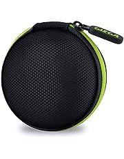 Gizga Essentials G11 Earphone Carrying Case for Earphones, Headset, Pen Drives, SD Cards (Green)