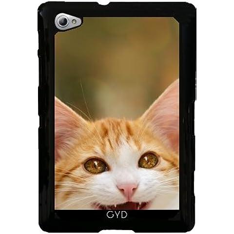 Funda para Samsung Galaxy Tab P6800 - Lindo Miau Gatito Sonriente by Katho Menden