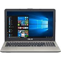 "ASUS K541UA-GQ612T - Ordenador Portátil de 15.6"" HD (Intel Core i7-7500U, 8 GB RAM, 1 TB HDD, Intel HD Graphics, Windows 10 Home) Negro chocolate - Teclado QWERTY Español"