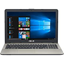 "ASUS K541UA-GQ1285T - Portátil de 15.6"" (Intel Core i3-6006U, RAM de 4 GB, 500 GB HDD, Intel HD Graphics 520, Windows 10) negro chocolate - Teclado QWERTY Español"