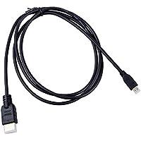 SODIAL(R) Cable de alta definicion HDMI Micro universal para GoPro HERO3 y otros dispositivos