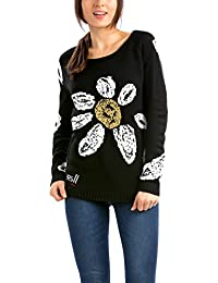 Desigual Nadine - Pull - Col rond - Manches longues - Femme