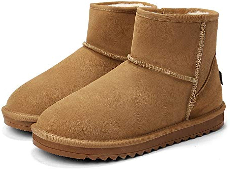 Stivali da Neve alla Moda Casual Casual Casual Confortevole Suola contraffatta Inverno Faux Fleece all'Interno Home scarpe for... | Specifica completa  | Gentiluomo/Signora Scarpa  9a8d6b