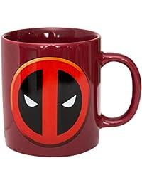 Preisvergleich für MONDO Tasse–Marvel–Deadpool groß 444ml Tasse New Lizenzprodukt mgm001