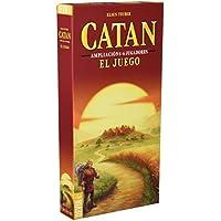 Catan Devir, juego de mesa (BGCATAN56) - Ampliación para 5 y 6 Jugadores