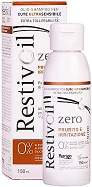 RestivOil Zero Shampoo Anti Prurito e Irritazione per Capelli Olio Fisiologico Delicato ad Azione Detergente,