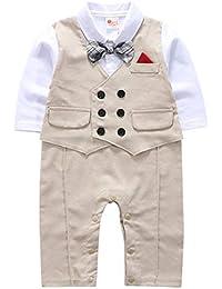 ab12c1527 cool elves - Ropa Bebés Niños de Bautizo Mono Romper para Bebés de 3-18