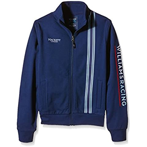 Williams Martini Racing Team Replica Kids Jersey chaqueta, HACKETT London, Fórmula 1, F1, colour azul, Valtteri Bottas, Felipe Massa