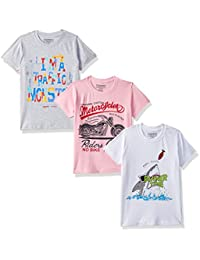 35d3d9b5e9 T-Shirts for Boys: Buy Boy's T-Shirts Online at Low Prices in India ...