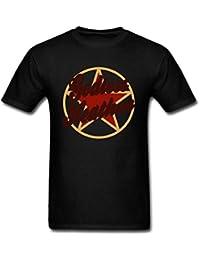 FIVE Miumine Men's Godless Heathen Atheist Short Sleeve T-Shirt