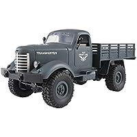 Amewi 22364 U.S. Militär Truck 4WD 1:16 RTR blaugrau