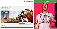 Microsoft 1 TB Xbox One S Console - Forza Horizon 4 Bundle&FIFA 20 (Xbox