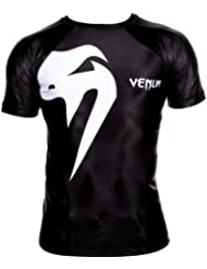 Venum Giant Short Sleeve - Camiseta de fitness para hombre, talla UK: