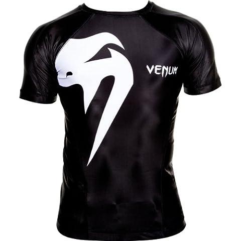 Venum Giant Short Sleeve - Camiseta de fitness para hombre, talla UK: