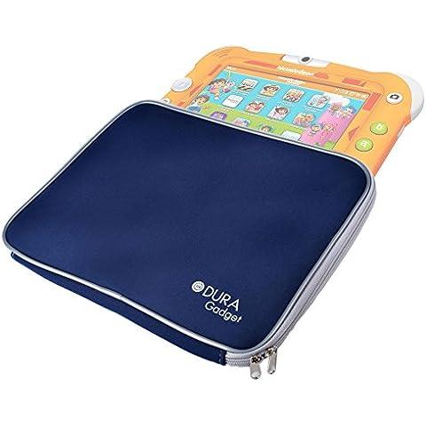 DURAGADGET Funda Azul De Neopreno Para Tablet Videojet Nickelodeon - Con Cremalleras De Alta