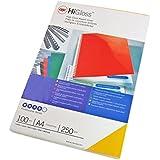 Gbc CE020020 - Caja de 100 portadas, A4, 250 g, color azul