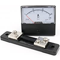 heschen rectángulo de panel montado en Contador de corriente amperímetro Tester DH de 670DC 0–30A clase 2,0con Shunt
