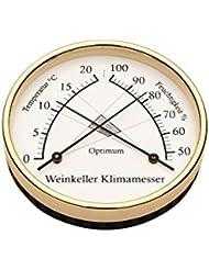 Barigo Thermomètre Hygromètre de cave Ø 10cm