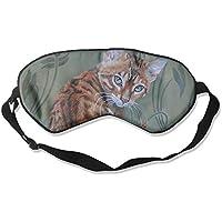 Eye Mask Eyeshade Cat Oil Painting Sleep Mask Blindfold Eyepatch Adjustable Head Strap preisvergleich bei billige-tabletten.eu