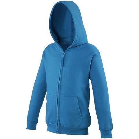 Just Hoods by AWDis Kids Zoodie, Capucha para Niñas