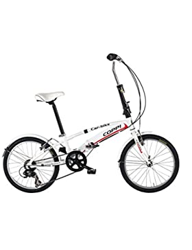 LINEA FAUSTO COPPI Bicicleta Plegable Car Bike Blanco