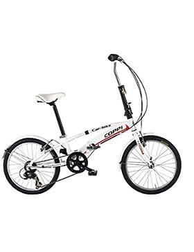 LINEA FAUSTO COPPI Bicicleta Plegable Car Bike Blanco