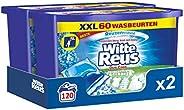 Witte Reus Duo-Caps Wasmiddel Capsules - 60x2 wasbeurten