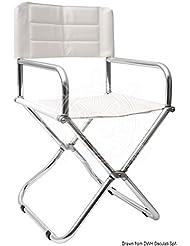 Poltroncina lega leggera pieghevole English: Alloy foldable chair
