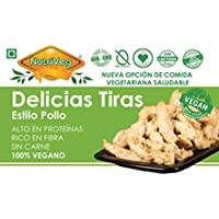 NUTRIVEG DELICIAS DE POLLO (EN TIRAS) (VEGANO) 300g (Pack de 6)